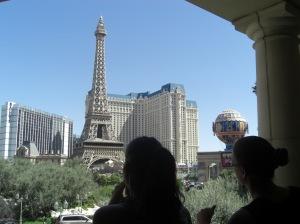 A Las Vegas même si la Tour Eiffel est petite, le lieu est propice à toutes les réalisations !