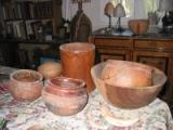 Plats culinaires de l'ethnie des Toucouleurs, Afrique, ramenés par l'etnnologue Jean Girard.