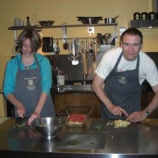 Atelier de cuisine alchimique international dans les cuisines de la Maison Trévier, Carpentras.