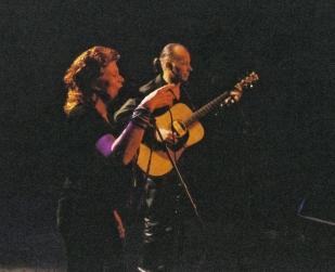 Le duo Virage avec Elietteau théâtre du Chien qui Fûme en Avignon..