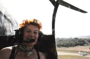 Eliette pilote sur le tarmac de la 31/13.